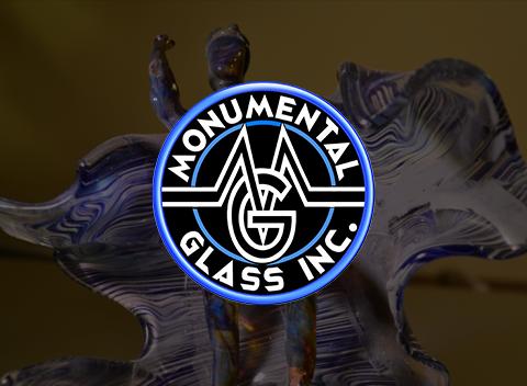 monumental galss logo